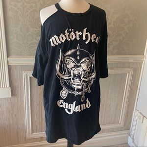 Motorhead Missguided NWT graphic at-shirt size 8